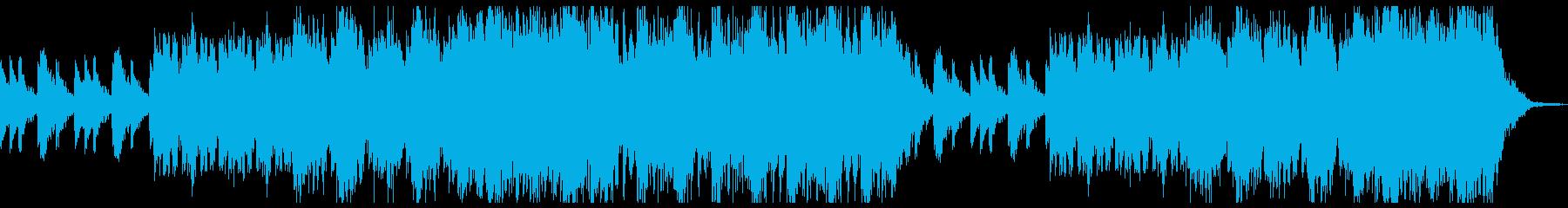 煽られるような勢いを増すBGMの再生済みの波形