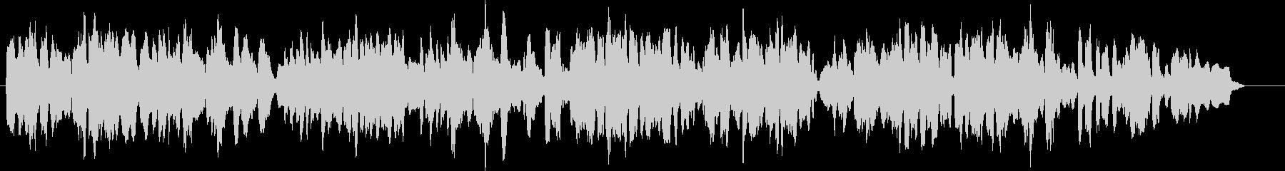 リコーダー4重奏で郷愁を誘う調べの未再生の波形