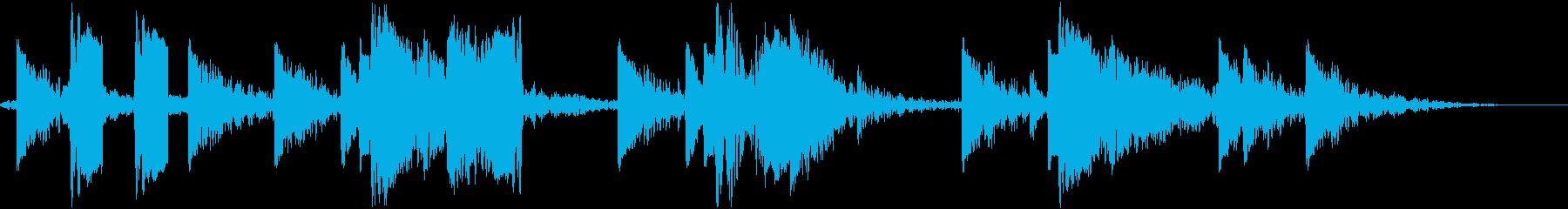 DJ効果音 かっこいいだろこれ!の再生済みの波形