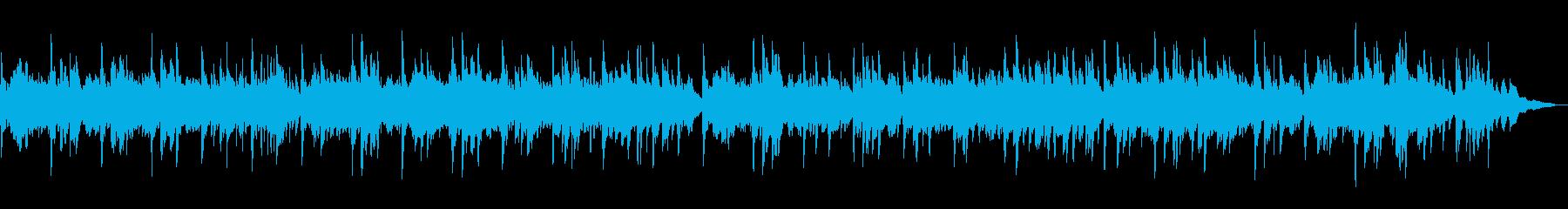 シンプルで飽きが来ない 癒しのピアノソロの再生済みの波形