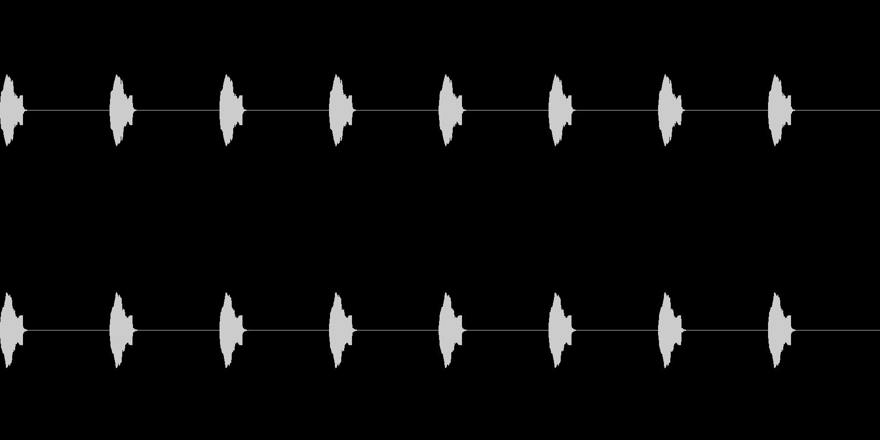 【誘導音 横断歩道01-3L】の未再生の波形