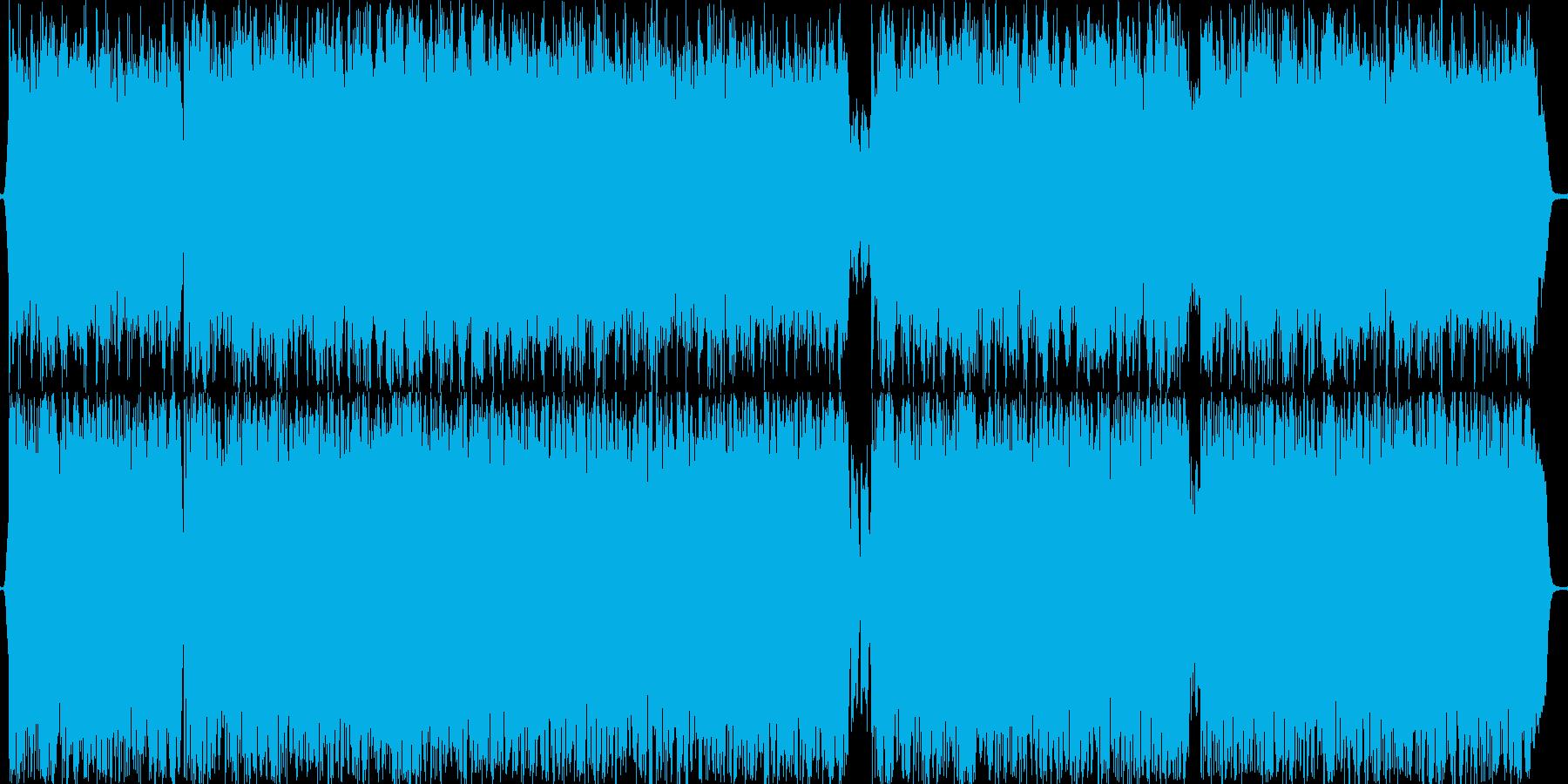 重厚な感じの曲です。の再生済みの波形