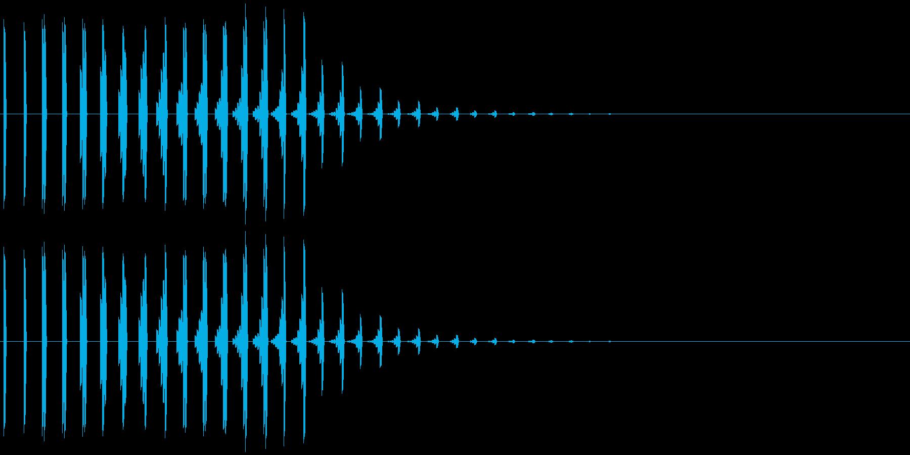 アイテム入手、回復など ティコォリィ…の再生済みの波形