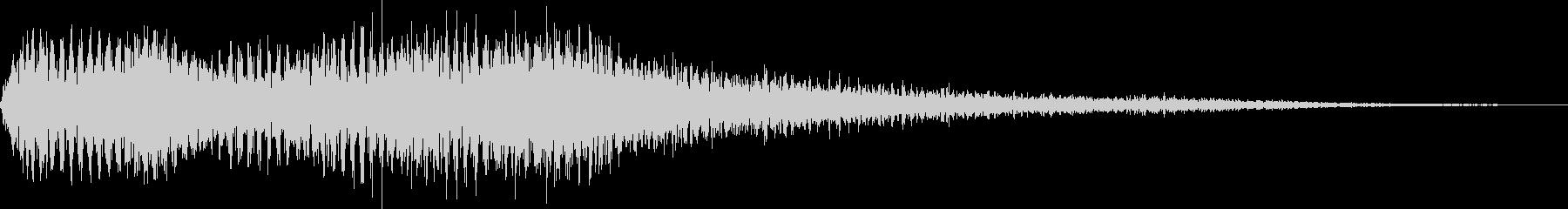 Sound logo: A beautiful low alto chorus's unreproduced waveform