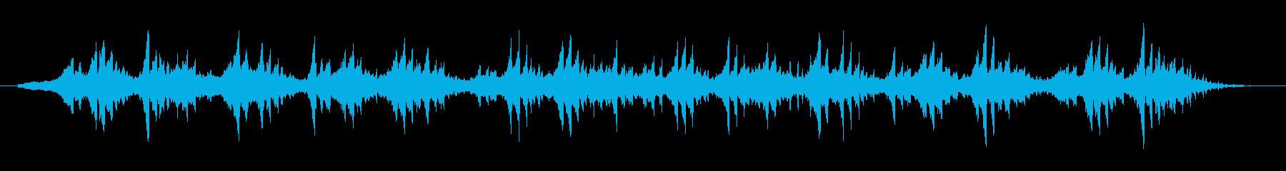 空気のように漂うアンビエントBGMの再生済みの波形