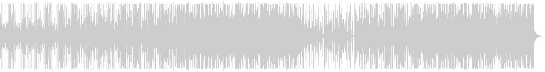 キラキラ/ハウス_No484_1の未再生の波形