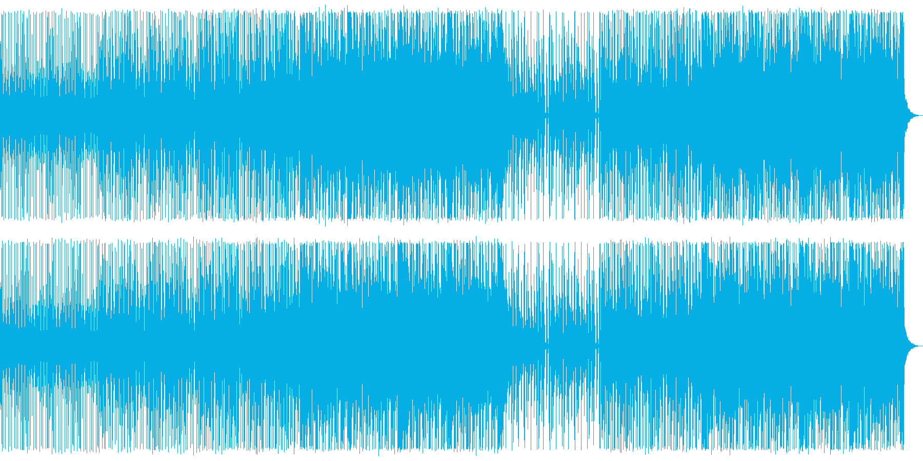 キラキラ/ハウス_No484_1の再生済みの波形
