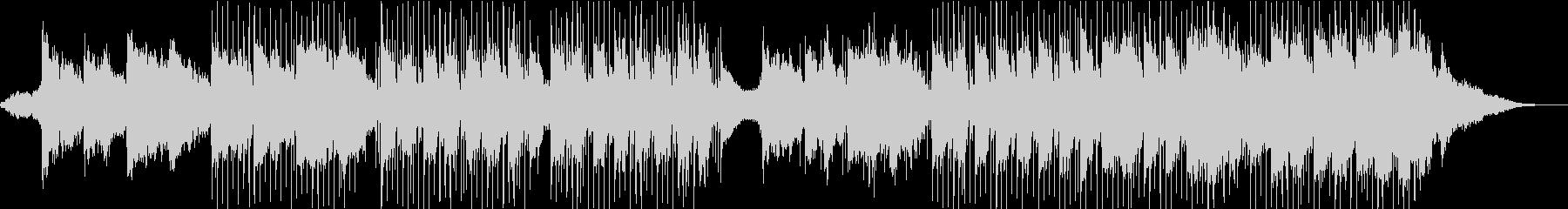 オリエンタルなリラックスBGMの未再生の波形
