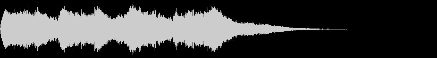 キンコンカンコン♪(町の時計台風)②の未再生の波形