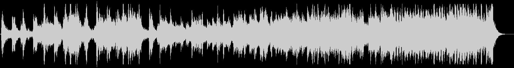 躍動感あるアドベンチャー音楽の未再生の波形