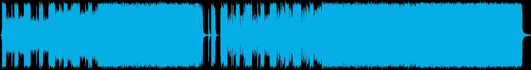 ブルース メタル インディーロック...の再生済みの波形
