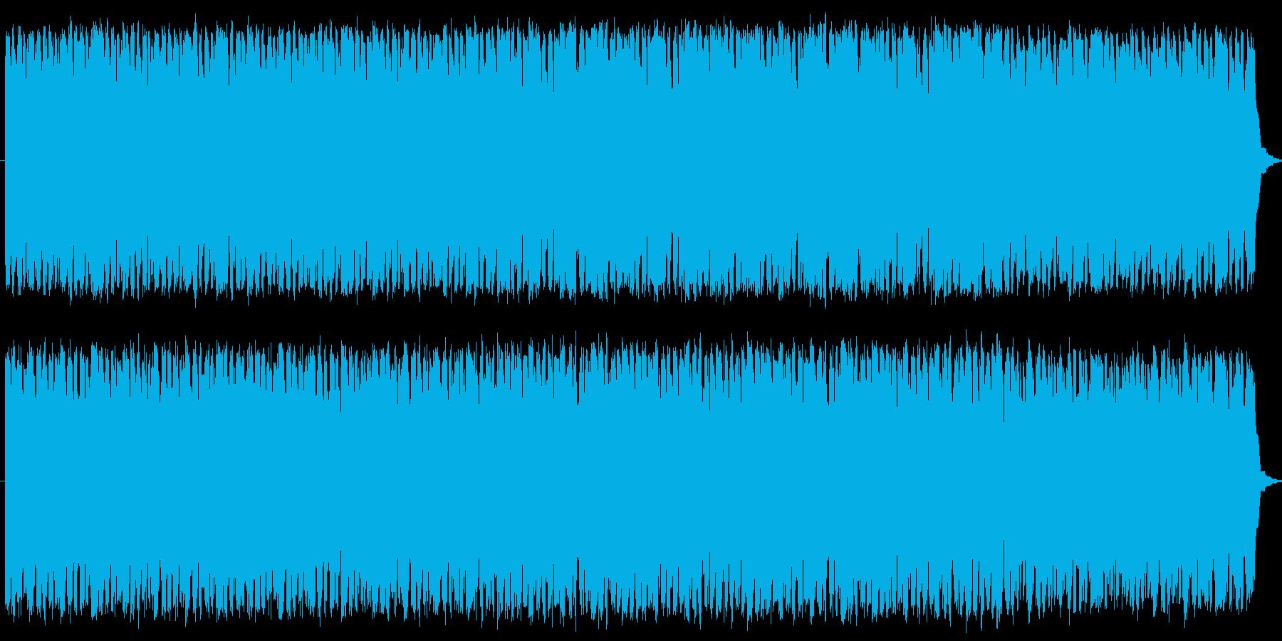 懐かしさの中に切なさを感じられる楽曲の再生済みの波形