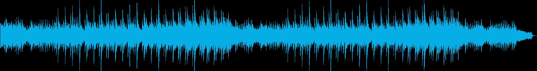 Gentle, inspiring, gentle, piano ballad's reproduced waveform