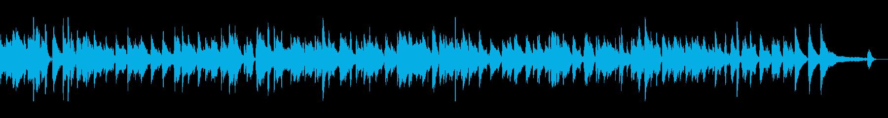 落ち着いたオシャレなジャズの再生済みの波形
