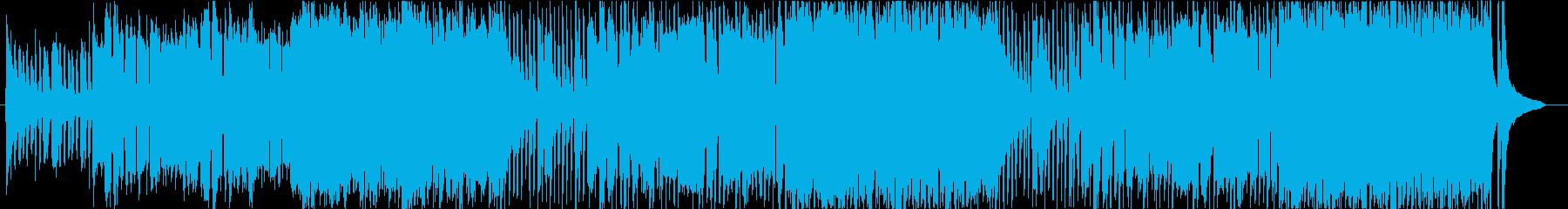 異国情緒を感じるアコーディオンワルツの再生済みの波形