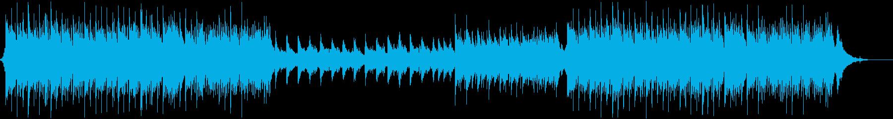 壮大で哀愁のあるケルト音楽の再生済みの波形