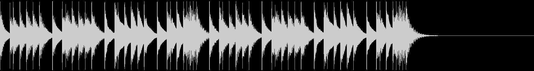 劇伴・コミカルなBGM:1の未再生の波形