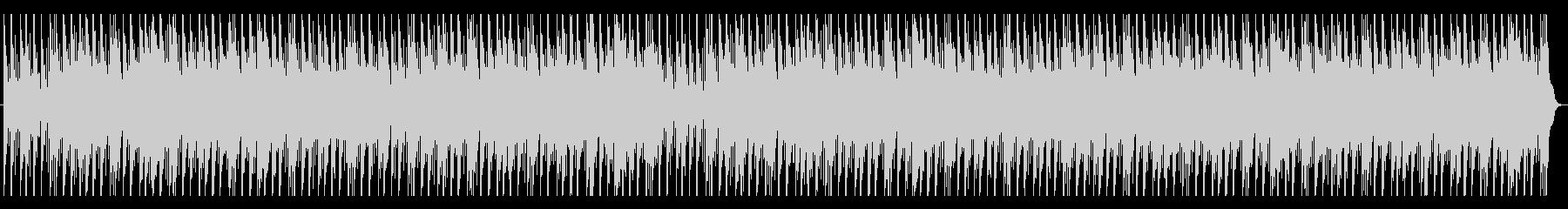 和太鼓と尺八の迫力のあるBGMの未再生の波形