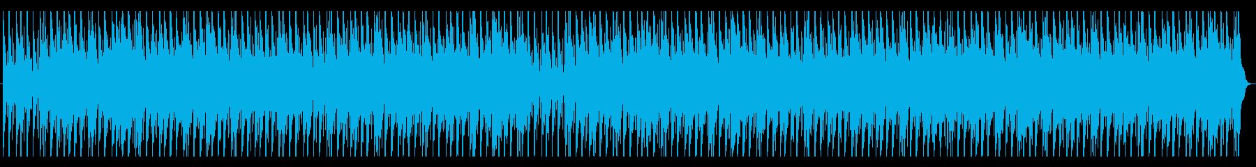 和太鼓と尺八の迫力のあるBGMの再生済みの波形