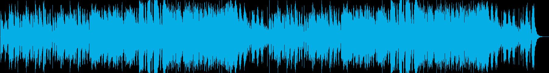 陽気で明るいメロディのポップスの再生済みの波形