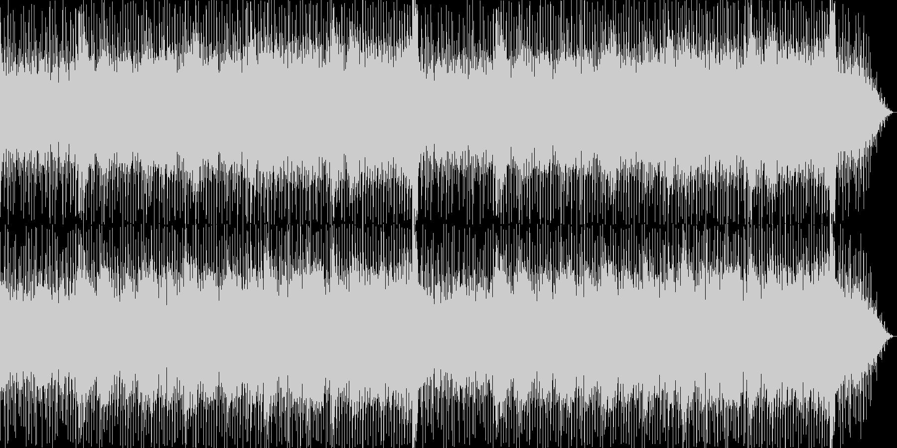 イージーリスニング系の爽やかな曲です。…の未再生の波形