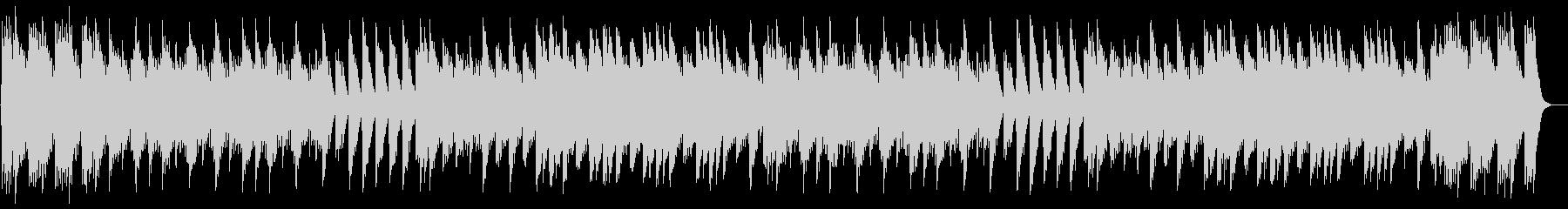 ドリーミーなオルゴールのアルペジオの未再生の波形