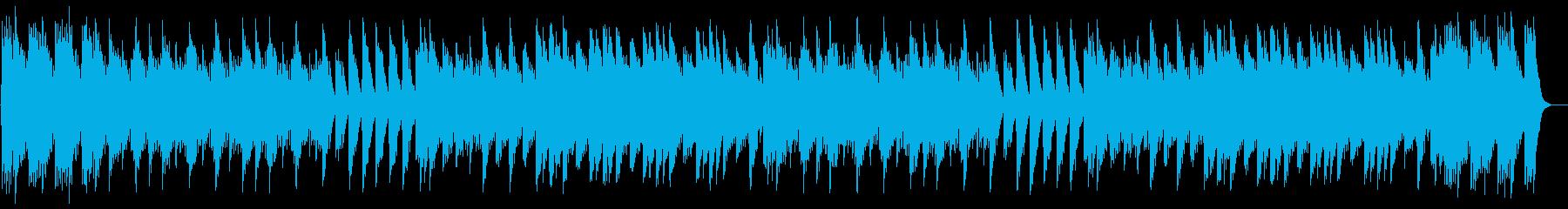 ドリーミーなオルゴールのアルペジオの再生済みの波形