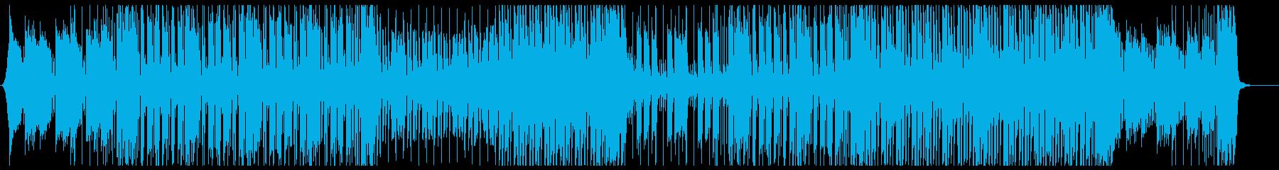 ファンタジーで可愛らしいドリームポップの再生済みの波形