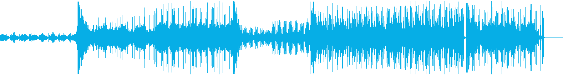 幻想的なジブリの森風サウンドの再生済みの波形