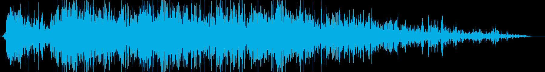 雷08の再生済みの波形