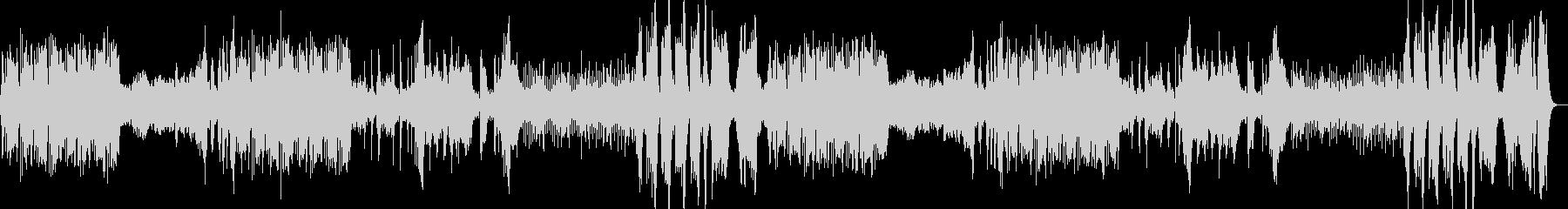 古典クラシックを意識した壮大な交響曲の未再生の波形