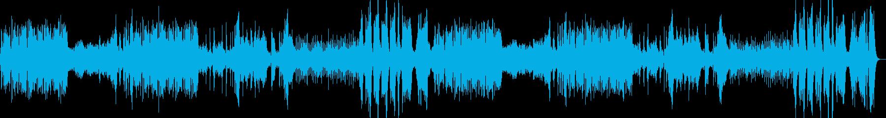古典クラシックを意識した壮大な交響曲の再生済みの波形