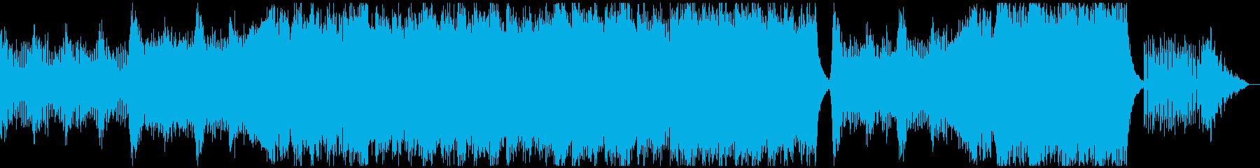 映画トレーラーの再生済みの波形