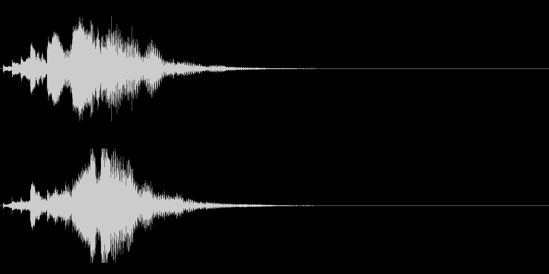 ハープ・下降_6-3の未再生の波形