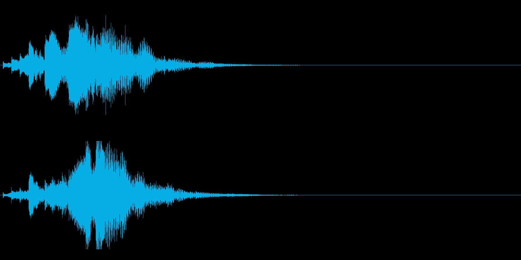 ハープ・下降_6-3の再生済みの波形