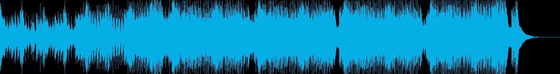 トランスなジングルの再生済みの波形