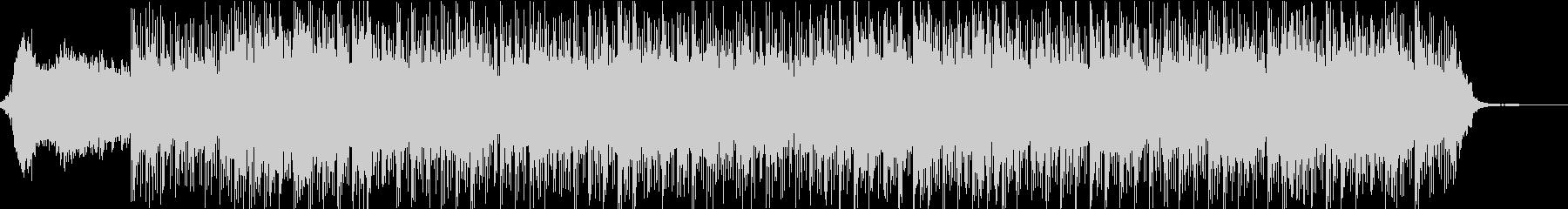 爽やかなブレイクビーツ 癒しの周波数の未再生の波形