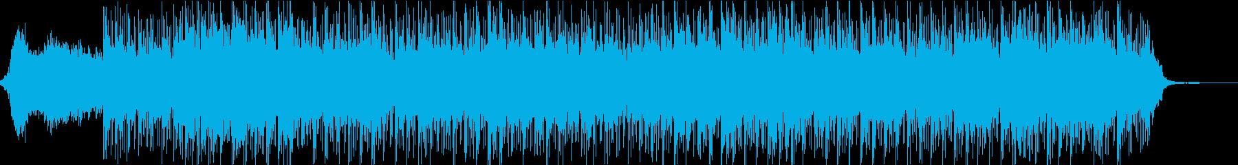 爽やかなブレイクビーツ 癒しの周波数の再生済みの波形
