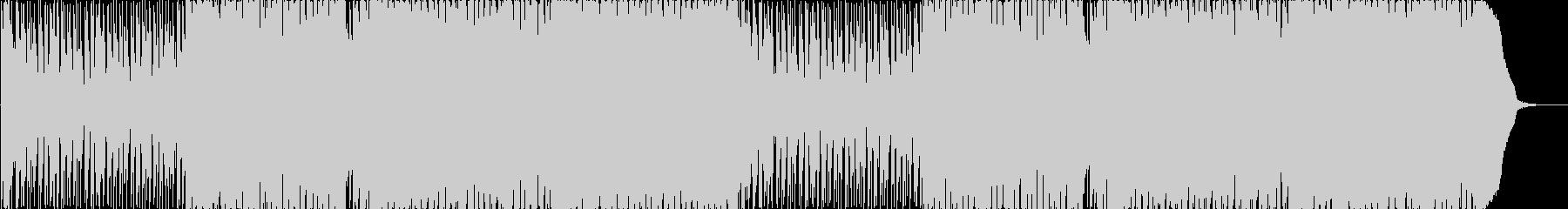 三味線がメインのお洒落なEDMの未再生の波形