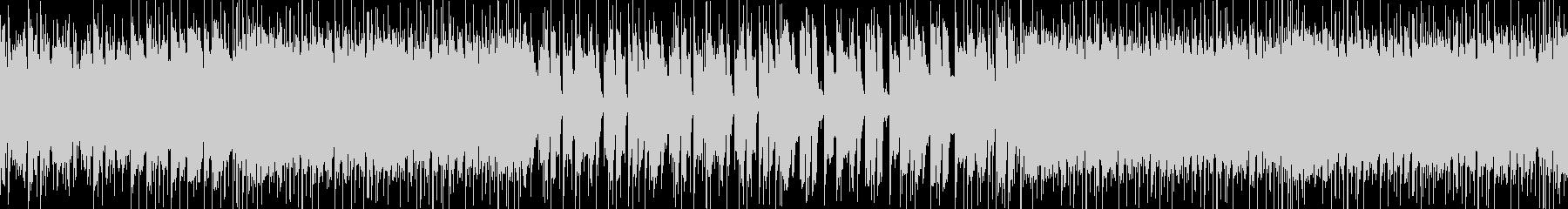 分かりやすく可愛いメロのEDM系POPSの未再生の波形
