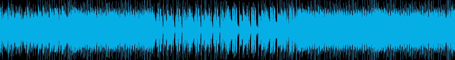 分かりやすく可愛いメロのEDM系POPSの再生済みの波形