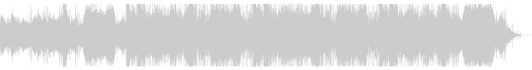 ダークでディープなデジタルテクスチャの未再生の波形