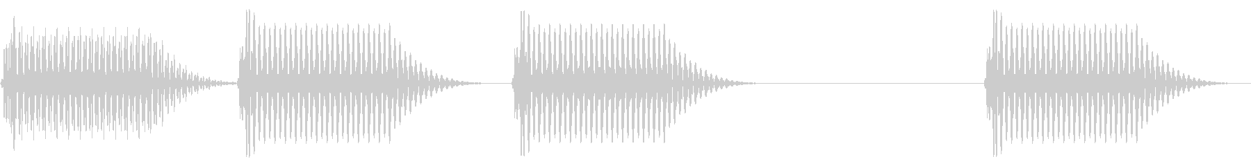往年のRPG風 セリフ・吹き出し音 7の未再生の波形