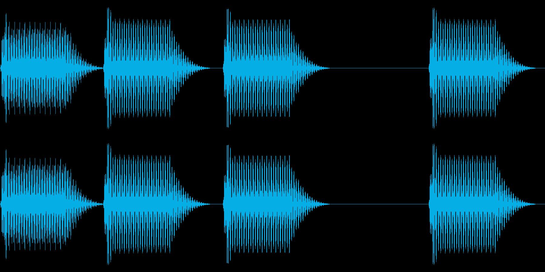 往年のRPG風 セリフ・吹き出し音 7の再生済みの波形