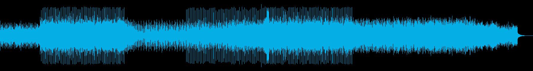 ノリの良いACID JAZZの再生済みの波形