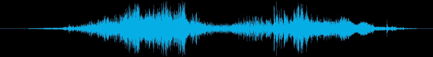 ギロチン:刃のドロップとヘッドのカ...の再生済みの波形