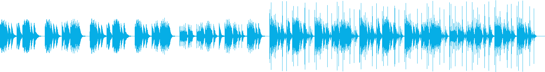 Youtube トーク場面 ほのぼのの再生済みの波形