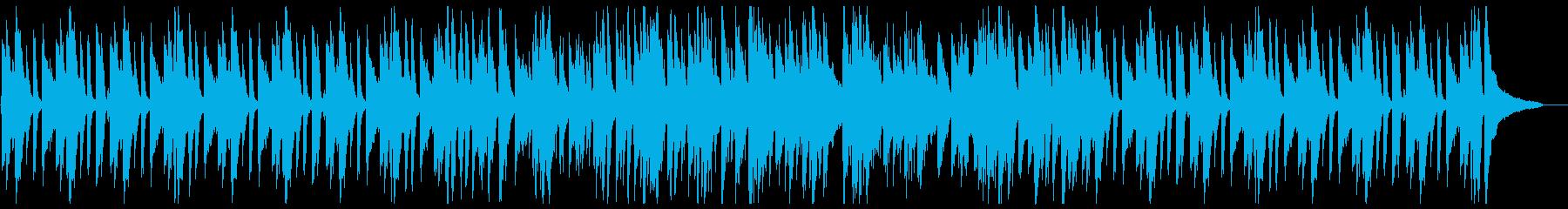 おしゃれなピアノトリオのアドリブジャズの再生済みの波形
