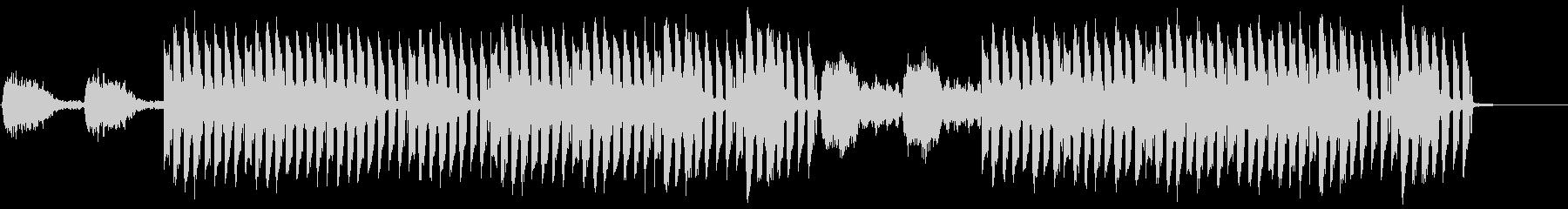 おしゃれかっこいいEDMジングル2の未再生の波形