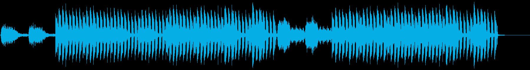 おしゃれかっこいいEDMジングル2の再生済みの波形